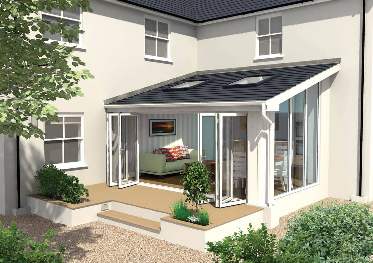 Lean to conservatory reading abbey conservatories berkshire for Lean to style house plans