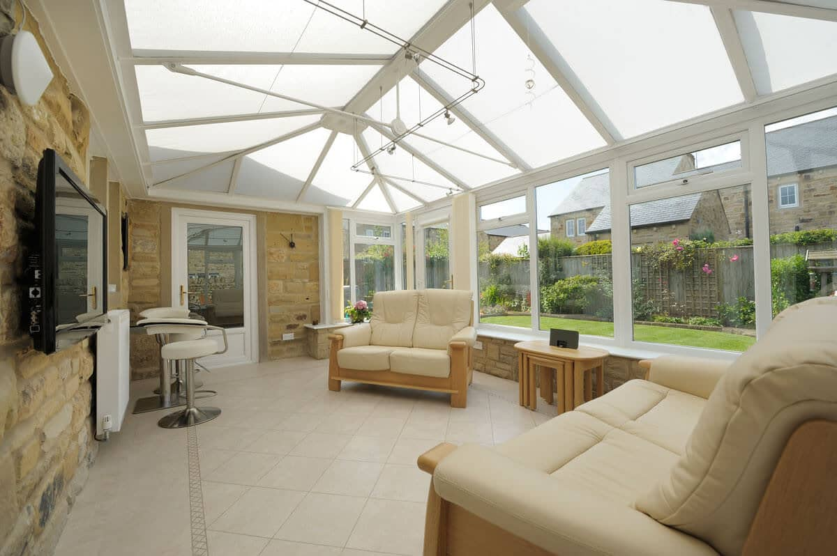 modern house extensions Burghfield