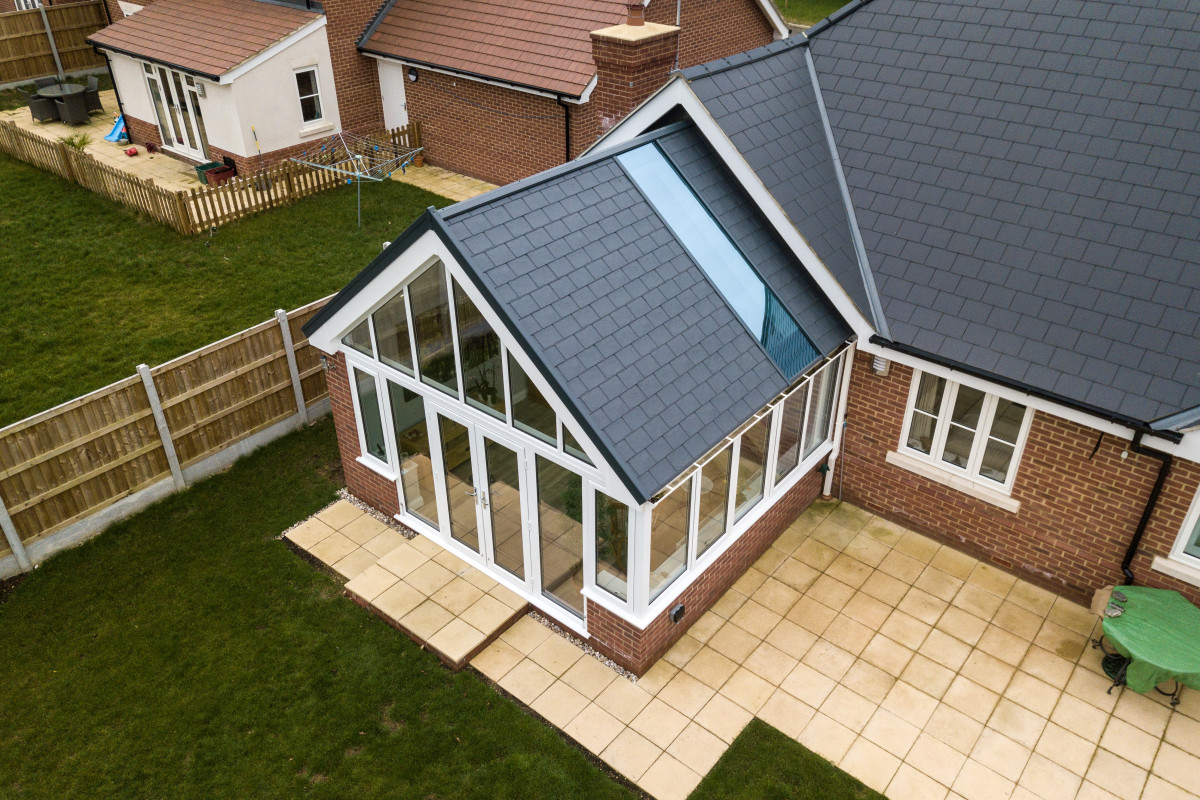 Conservatory Roofing Tiled