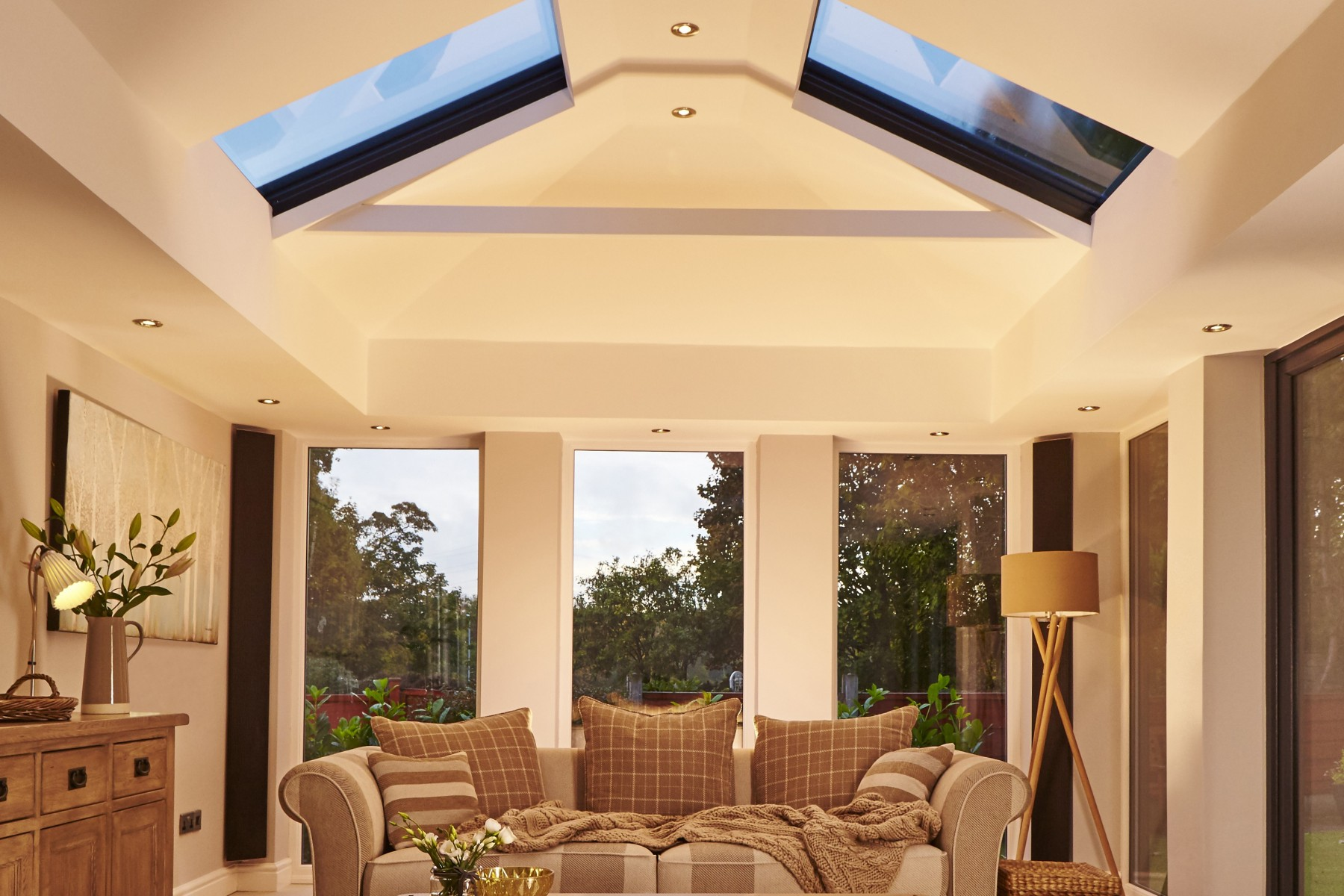 solid roof conservatory costs southcote