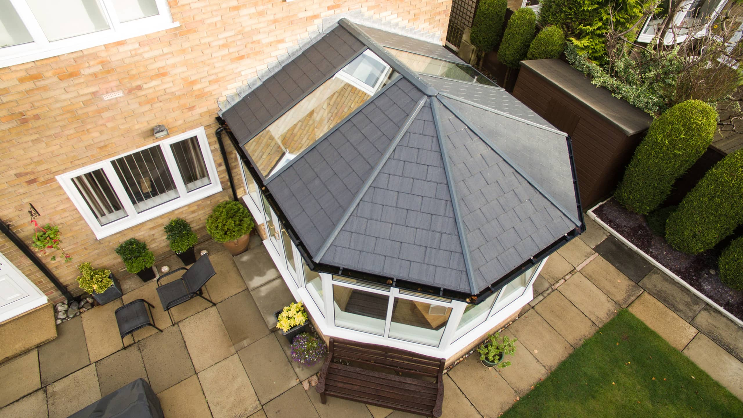 southcote tiled roof conservatory