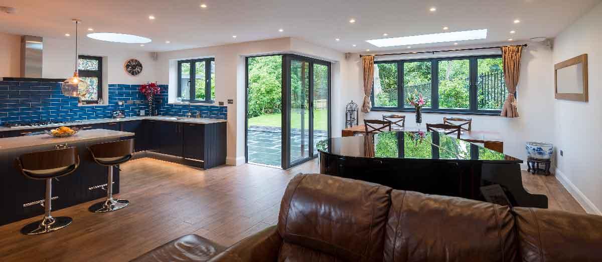 aluminium conservatory project