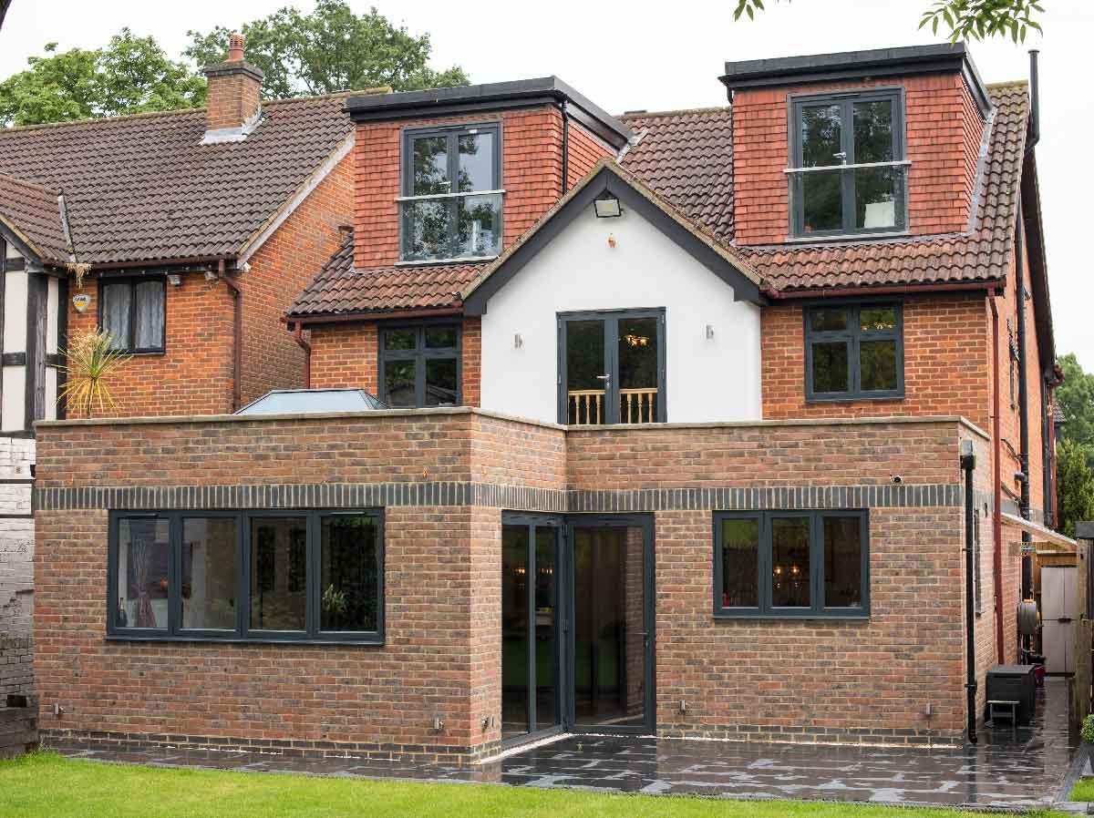 aluminium bifold doors conservatory project